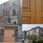 Proyek Pembuatan Pintu Jati di Ebony III Pantai Indah Kapuk ( PIK )